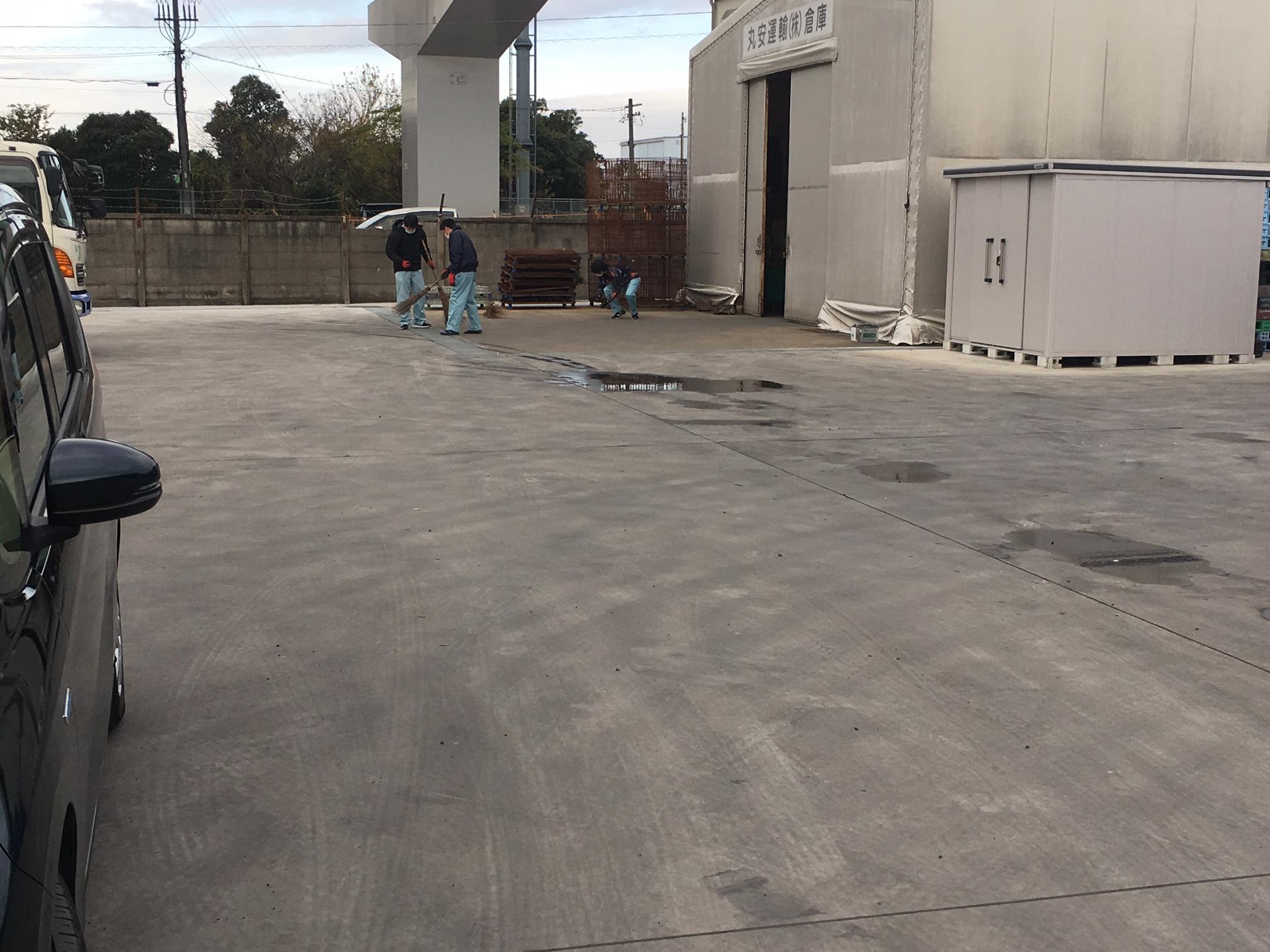 R2年末大掃除 丸安運輸